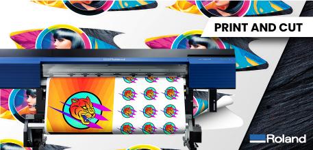 Print and Cut - Roland SG2 Series