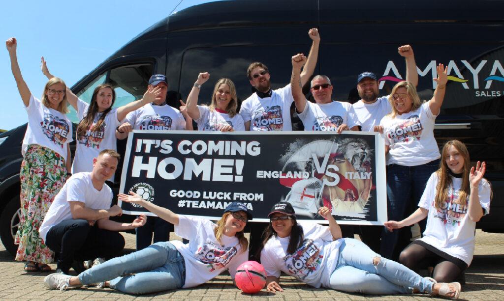 Amaya Sales UK Euro 2020 Team Photo