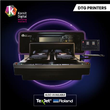 Kornit Direct to garment printer Slider