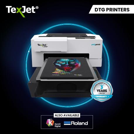 Texjet Direct to garment printer Slider