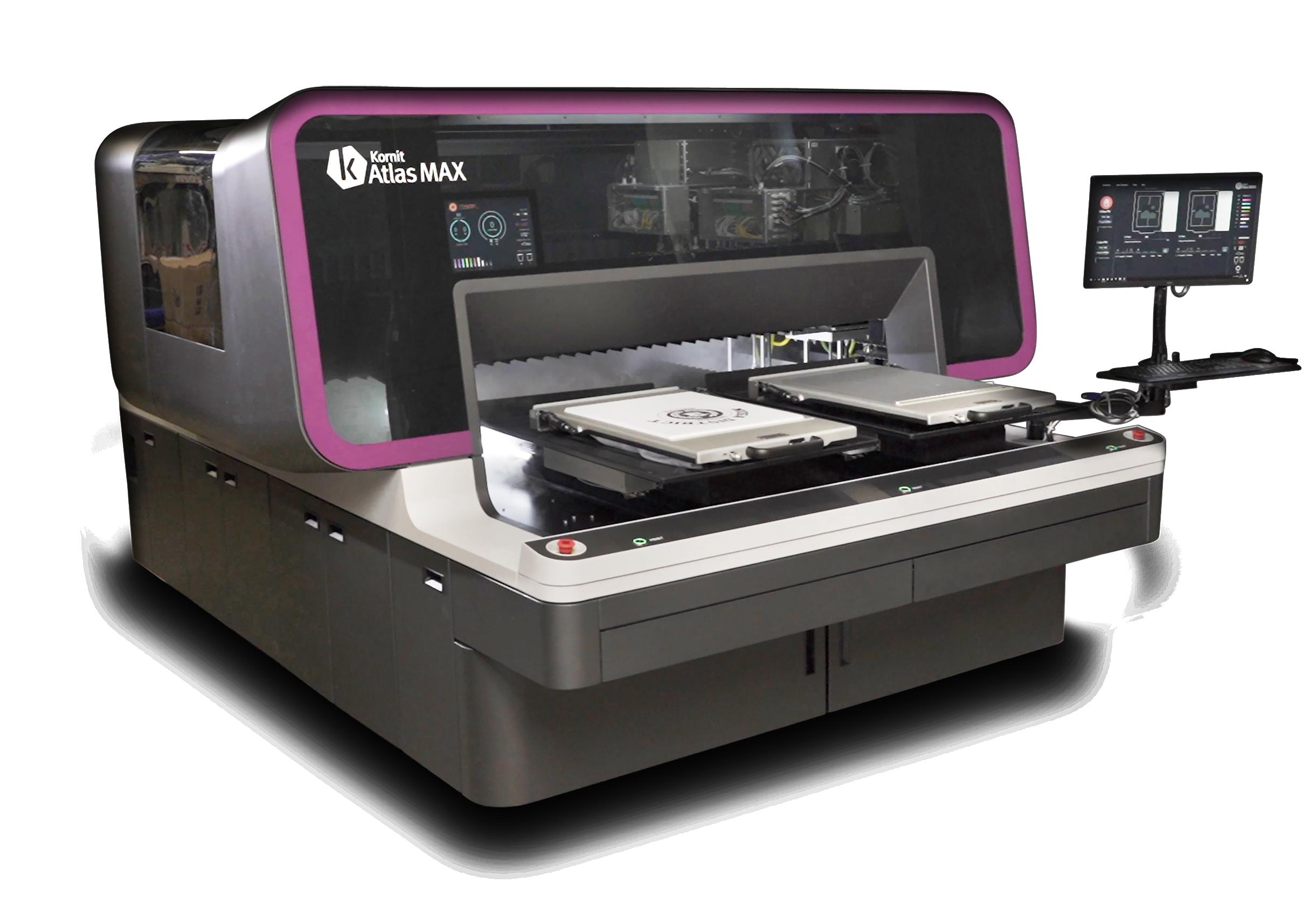 Why Kornit Workshop Atlas Max Direct-to-Garment Printer